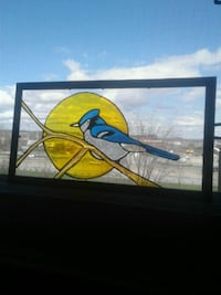 Birds stained glass art:)