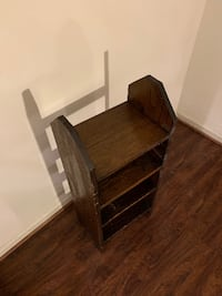 Price Negotiable - Solid Wood Shelf/Endtable Chantilly