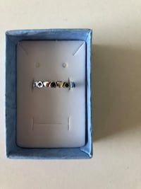 Sterling silver stackable hearts ring Keswick, L4P 3P2