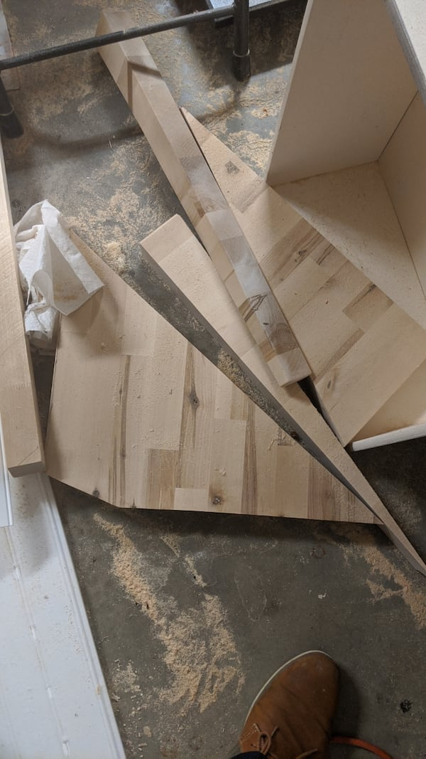 Various sizes of Butcher block remnants - Priced individually f80b3479-eb4d-4433-bcf8-653f77ffb32c