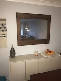 Solid wood framed mirror White Rock, V4B 3V5