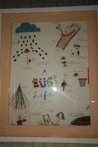 Bugs Art project and frame