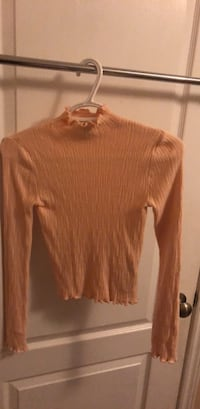 Forever 21 Mock Neck Top