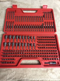 nice sturdy case  Alloy Steel Construction Molded Plastic Case Labeled Bit Slots Fit any Fastener with the 208-Pc. Ultimate Screwdriver Bit Set