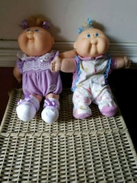 two blue and pink dressed girl dolls Loganville, 30052