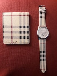 Burberry  watch and wallet