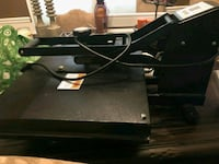 black Microsoft Xbox One with controller Washington