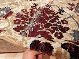 New Burgundy area rug 5x8 floral rugs
