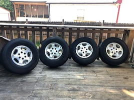 Tires Chevy 2005*