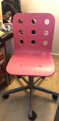pink and black wooden chair Rockville, 20852