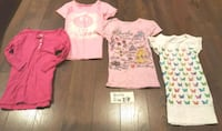Girls Size 7/8 Tops 505 km