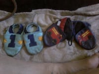 1 year old leather shoes handmade and cute Winnipeg