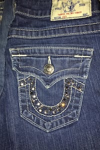 True religion size 26 boot cut
