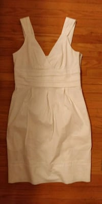 BCBG maxazria white dress Toronto, M1H 2H1