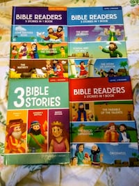 4 Books with 3 Bible stories Hagerstown, 21742