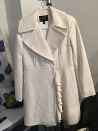 white button-up long-sleeved dress 717 km