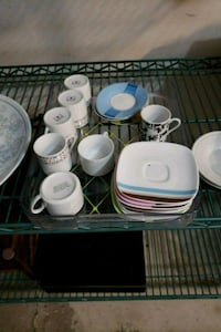 Mix set of espresso cups  Laval, H7X 3P2