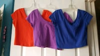 Crop tops - Size large Chantilly, 20152