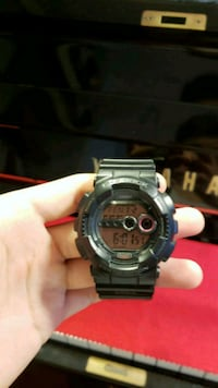 round black Casio G-Shock digital watch Santa Ana, 92704
