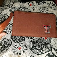 Texas Tech football leather clutch/purse/wallet Lubbock, 79416