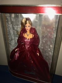 2002 Holiday Barbie Doll