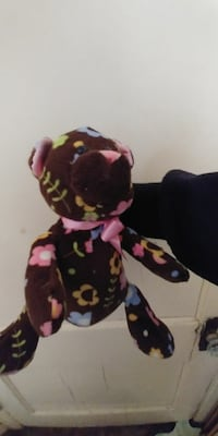 brown and multicolored bear plush toy Winnipeg