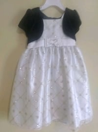girl's white sleeveless dress Weslaco, 78599