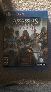 Assassin's Creed Syndicate PS4 game case