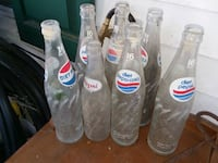 Antique Pepsi bottles