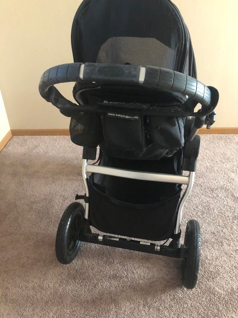 Photo Double baby jogger .Perfect condition $120 obo