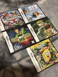 Nintendo ds games with cases