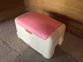 Little Tykes Pink/White Toy Chest