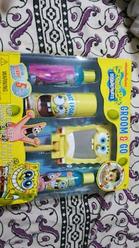 Spongebob groom n go set Brampton