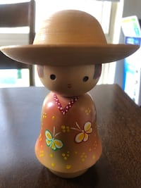 Wooden Doll Japanese