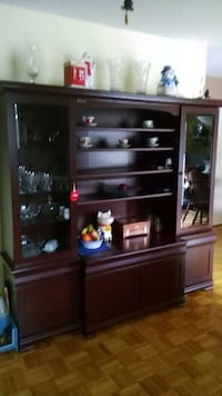 brown wooden dresser with mirror Alliston