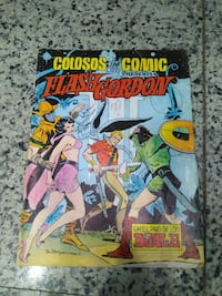 Comic Flash Gorgon Años 80