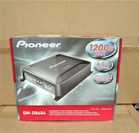 Brand New In Box ???? Pioneer Car Audio Amplifier 1200watts 4 Channel ???? We Beat Online Prices ???? 90 Day Payment Plan Los Angeles