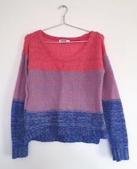 Garage Tri-Colour Knit Sweater Toronto, M9M 1Z3