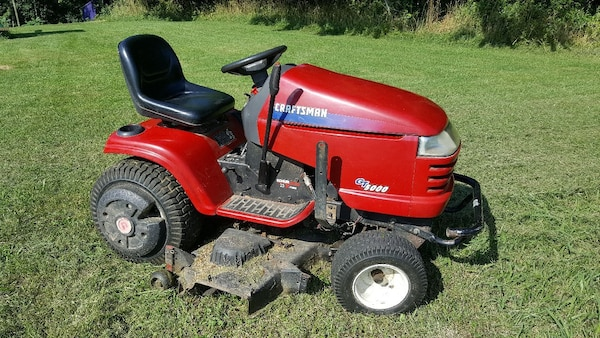 Great For The Garden Or Hunt Club Has A 19 5 Hp Briggs Turf Tech All Terrain Back Tires Hi Lo Sd Transmission Runs Works Hard