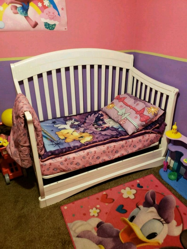 Used Toddler bed and mattress for sale in Whitman   letgo