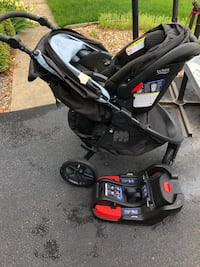 Britax travel system - base, car seat, and stroller Bristow, 20136