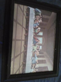 Framed Last Supper picture Laurel, 20724