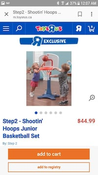 Step 2 Shootin Hoops Junior Basketball Set screenshot Edmonton, T5X 2G5