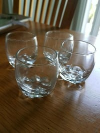 4 Shot glasses  Laval, H7X 3S9