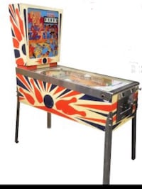 WANTED Pinball Machine Broken or Working machine a boule pin ball ping Baie-D'Urfé, H9X