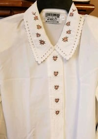 Cream embroidery top Mississauga, L5V 2N6