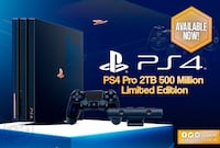 PS4 Pro 2TB 500 Million Limited Edition Orillia, L3V 0B9