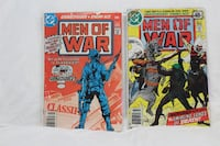 "DC Comics ""Men of War"" (8) for sale Brampton"