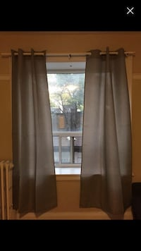 IKEA curtain rod + Winners curtain Toronto, M6H 3S8