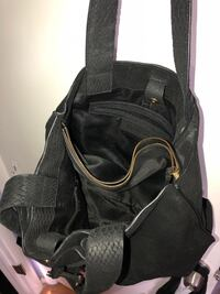 black and gray leather backpack Salt Lake City, 84124